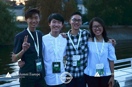 "SIR 2017 Winners share their experience after attending JA Alumni Europe's ""Unplugged"" Conference in Prague"